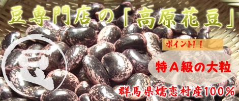 豆・乾物の専門店の松葉屋の「高原花豆」